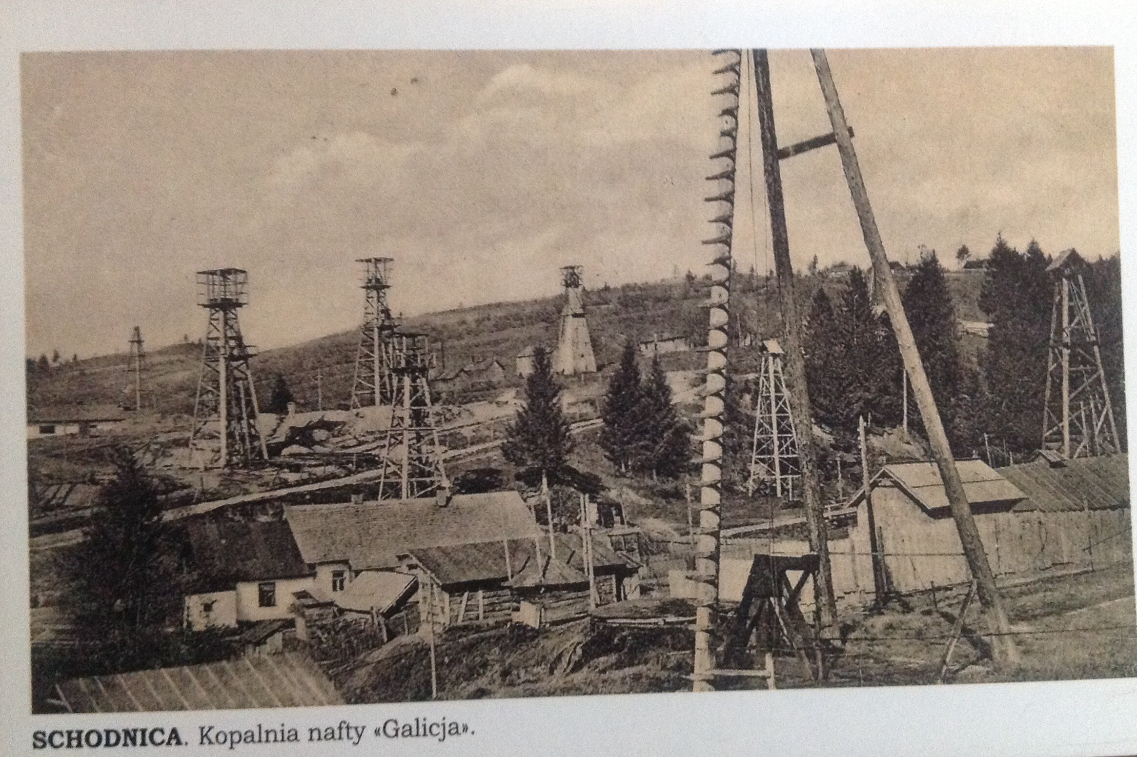"Shidnytsya, oil well ""Galitsia"""